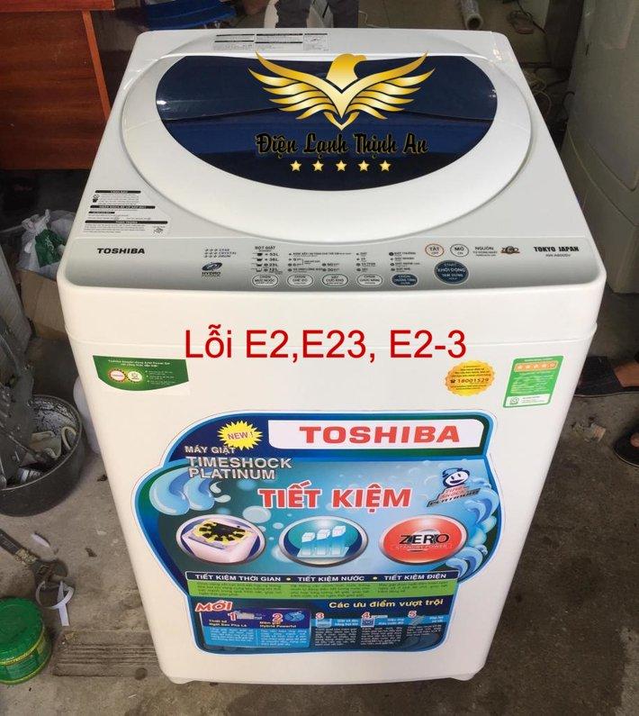loi E2,E23,E2-3 tren may giat toshiba