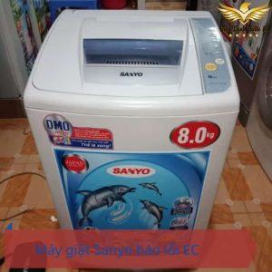 Lỗi EC máy giặt Sanyo