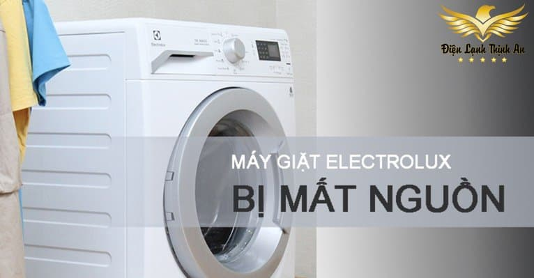 may giat Electrolux bi mat nguon